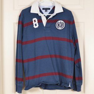 Tommy Hilfiger M Rugby Cotton Blue Striped